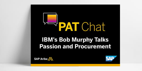 IBM's Bob Murphy Talks Passion and Procurement with SAP Ariba