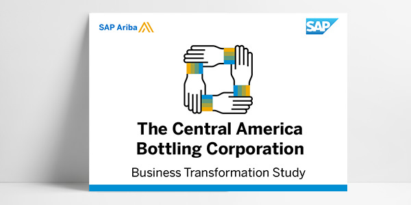 ariba.com library thumbnail for case study about SAP Ariba customer The Central America Bottling Corporation
