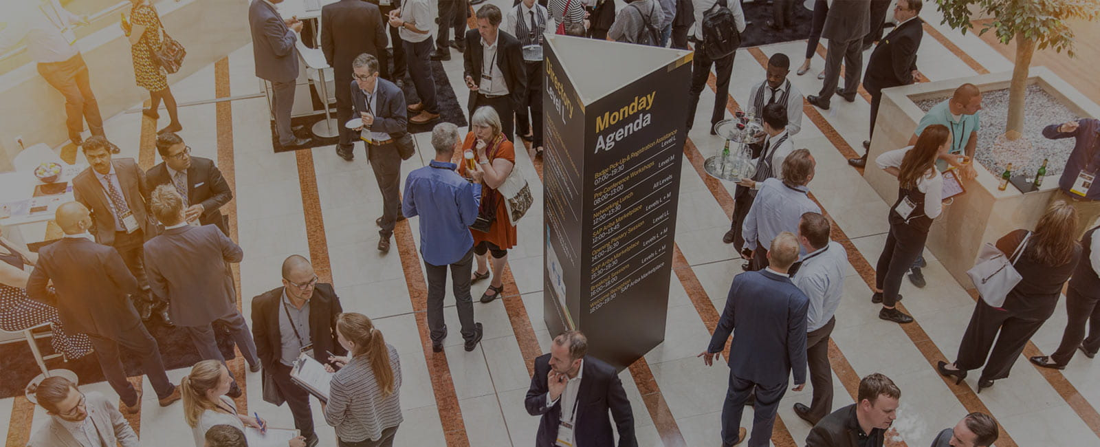 Networking is popular at SAP Ariba Live